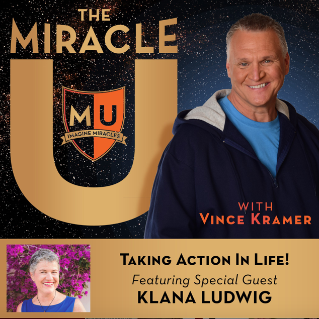 Podcast The Miracle You Vince Kramer interviews Klana